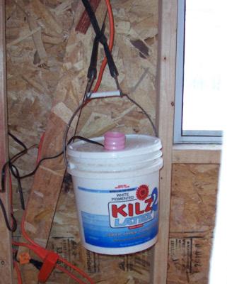 Heated Bucket Waterer With Aquarium Heater Avian Aqua Miser